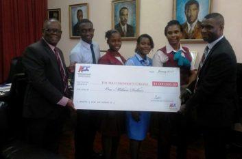 KDC donates a million dollar